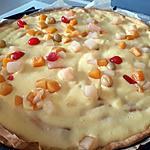 recette Tarte crème pâtissière aux fruits