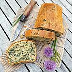 recette Cake aux Orties, Ciboulette et Origan