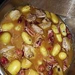 recette filets de caille à la bière /aux cerise/ pomme de terre nouvelle