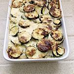 recette gratin de courgettes au fromage ail et fine herbes