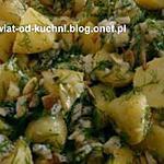 recette Salade de pommes de terre nouvelles au Roquefort