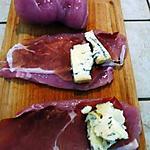 recette Roulés poulet - gorgonzola