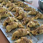 recette Croissants feuilletés au saumon