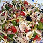 recette Salade de poulpe à la méditerranéenne
