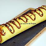 recette Biscuit roulé d'Alain Ducasse garni de confiture de lait