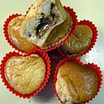 recette moelleux à la pistache et son coeur au chocolat (préparation 10 mns)