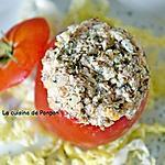 recette Tomate farcie aux filets de sardine