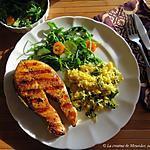recette Darnes de saumon bbq trop bonnes, saveurs indiennes +