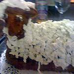 mouton salé aux herbes et laine au st moret