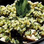 recette Risotto poulet orties épinards aux épices korma