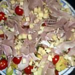 recette Salade composée des brasseries parisiennes