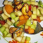 recette Salade fraîcheur sale sucré