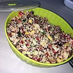 recette Salade de céréales