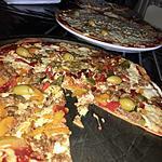 recette Pizza au poivrons et au thon