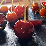 recette Petites tomates cerises comme une pomme d'amour
