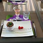 recette SALADE DE LENTILLES BLONDES AUX OIGNONS ET BACON