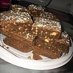 recette Brownies au chocolat au lait