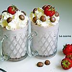 recette Mousse gourmande de fraises