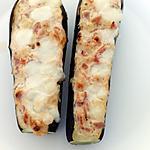 recette courgettes farcie au jambon de bayonne