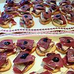 recette Toast au magret fumé et foie gras de canard