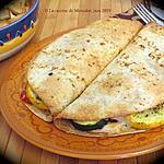 recette Quesadillas aux légumes grillés