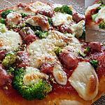 recette Pizza à la scarmoza et saucisse italienne