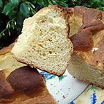 recette Couronne aux petits suisses & orange