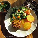 recette Galettes de poulet haché aux herbes fraîches
