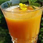 recette Soupe glacée de melon au citron vert gingembre et miel