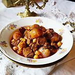 recette KHAMMOURYA-KHAMOURIA-PLAT DE VIANDE AUX OIGNONS ET VINAIGRE