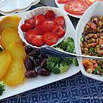 recette Salade de lentilles au saumon fumé,  accompagnements légers +