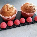 recette Muffins aux fraises Tagada ®