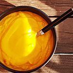 recette Moulinée de carotte à la patate douce et lentilles corail