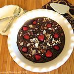 recette Tarte menteuse chocolatée