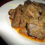 recette KAMOUNIA OU CAMOUNIA PLAT DE FOIE SAUCE AU CUMIN