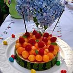 recette Gâteau de fruits frais