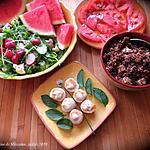 recette Menu fraîcheur avec pétoncles et bol de quinoa +