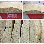 recette PAINS BLANC