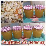 recette CONFITURE DE POMME