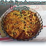 recette CLAFOUTIS COURGETTES SAUMON FRAIS