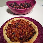 recette Tarte aux prunes sauvages