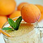 recette Smoothie aux abricots, melon, pêche et guarana blanc