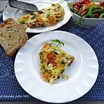 recette Omelette à la grecque, version craquante