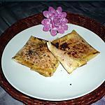 recette Bricks cantal/jambon