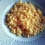 recette Couscous de polenta sans gluten