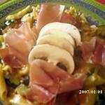 recette pestasotto au jambon cru et légumes
