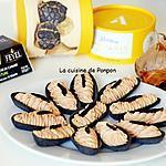 recette Amuse bouche à la mousse de foie de canard et ail noir