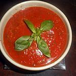 recette Sauce tomate au basilic