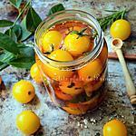 recette Pickles de tomates jaunes