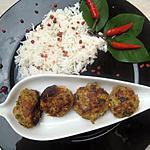 recette Koftas épicés à l'agneau (indien)